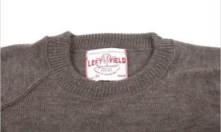 Left Field NYC Ivy Crewneck Sweaters