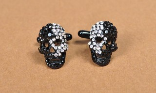 Paul Smith Skull Diamond Cufflinks