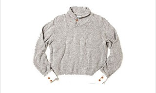 Steven Alan Shawl Collar Sweatshirt for Holiday 2010