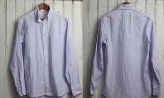 "Taylor Stitch ""Lavender"" Oxford Shirt"