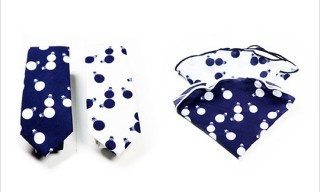 "Alexander Olch for Colette ""Little Guy"" Ties and Squares"