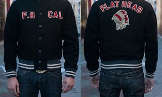 Flathead Native Smoke Varsity Jacket