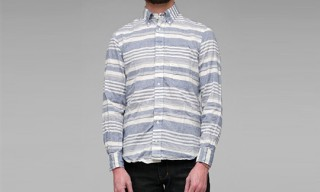 "Gitman Brothers ""Organic Stripe Button Down"" Shirt"