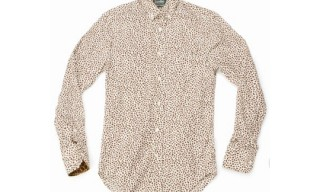 Opening Ceremony for Gitman Brothers Leopard Print Shirt
