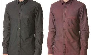 "Blackbird ""Naturally Dyed"" Oxford Shirts"