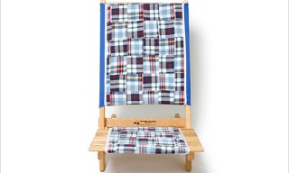 Madras Patchwork Chair by Blue Ridge Chair Works for HOBO