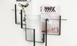 Frederik Roije 'Guidelines' Magazine Rack