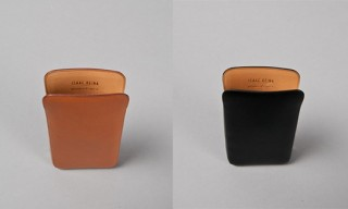 Isaac Reina Leather iPhone Pouches