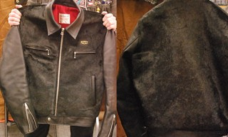 "Lewis Leather ""Dominator"" Horsehide Jacket"
