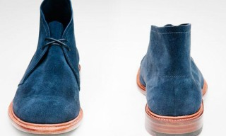 Lodger Footwear Leather Sole Desert Boot