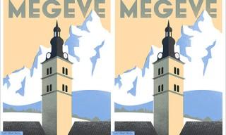 La Belle France's Megève Poster
