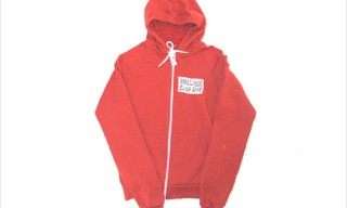 "Mollusk Surf Shop ""Smile"" Red Hoodie"