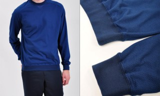 Adam Kimmel Mesh Jersey Sweatshirt