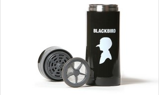 Blackbird Bird Boy Vacuum Travel Coffee Press