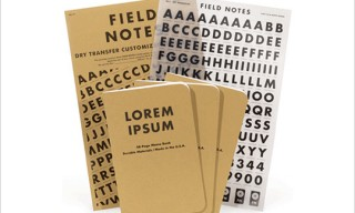 Field Notes Dry Tranfer Editions