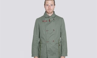 Folk Green Overcoat for Spring 2011