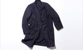 Frank Leder Linen Work Coat