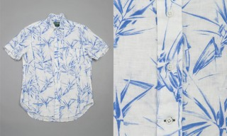 Gitman Brothers Bamboo Print Shirt