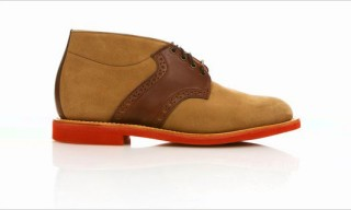 Mark McNairy New Amsterdam Saddle Chukka Boot