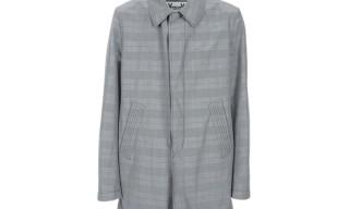 Moncler Gamme Bleu Check Coat
