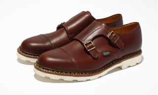 Paraboot for United Arrows Double Monk Shoes