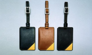 Valextra Luggage Tags for Monocle