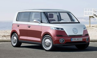2012 Volkswagen Microbus Is Back in Electric