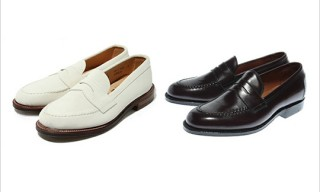 Alden for BEAMS+ Penny Loafers