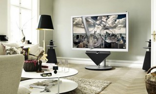 Bang & Olfusen's BeoVision 4-85 3D TV