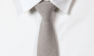 Blackbird Warm Grey Tie
