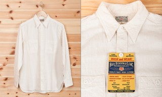 Buzz Rickson White Chambray Shirt