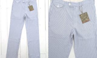 Engineered Garments Seersucker Trousers