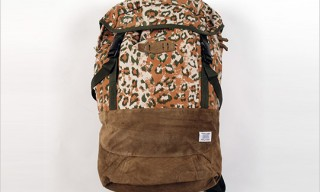 Goodhood, R. Newbold Camo Backpack
