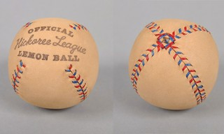 Hickoree League Leather Baseball