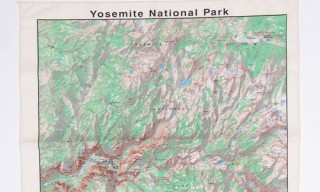 Yosemite Map Bandana