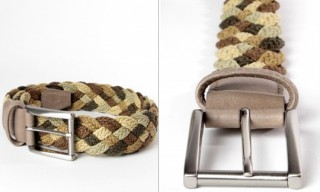 Anderson's Woven Leather Belts