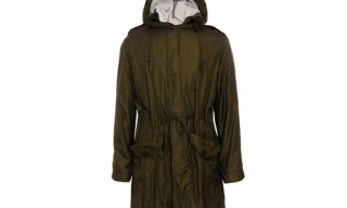 Burberry Brit Jersey Lined Parka
