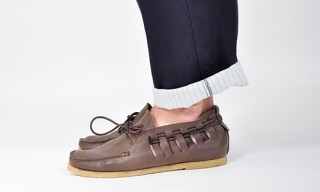 Buttero Woven Chukka Shoes