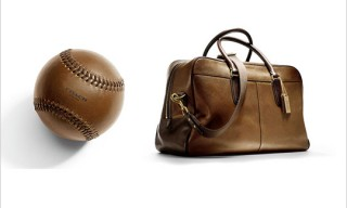 COACH 70th Anniversary Baseball Charity Ball, Glove, and Bag