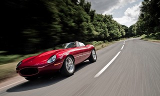 Jaguar E-Type Speedster Restoration by Eagle