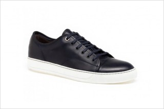 Lanvin Low-Top Leather Sneakers the cheapest cheap online factory outlet online 2014 unisex online outlet footlocker clearance excellent KjvNu