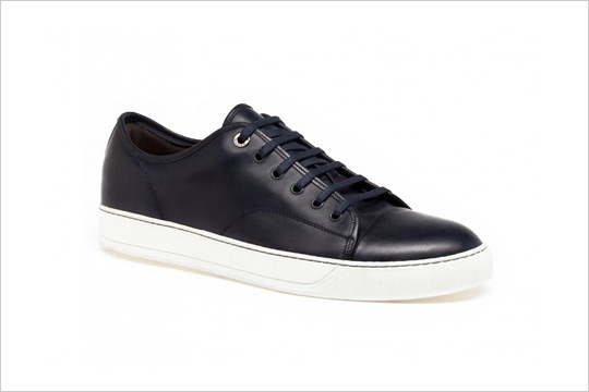 Lanvin Leather Low Trainers 66gF2oobFt