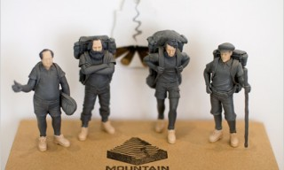 Mountain Men: Marx, Mao, Lenin and Thoreau Figures