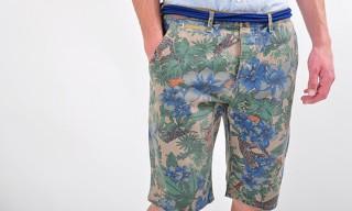 Paul Smith Goes Hawaiian Camo via Shorts
