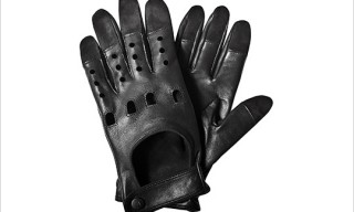 Richard Chai Black Driving Gloves