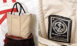"""Rogues Gallery """"Vintage Wool Blanket"""" Tote Bag"""
