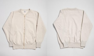 Studio D'Artisan Loopwheel Zip Sweat