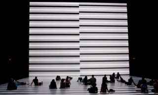 "Ryoji Ikeda ""the transfinite"" at Park Avenue Armory"