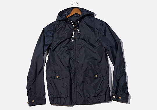 Navy Windbreaker Jacket - Pl Jackets