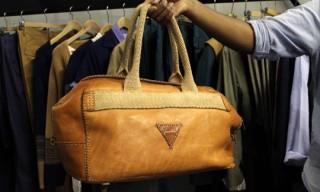 Pitti | Camo Cerruti Bag for Spring/Summer 2012